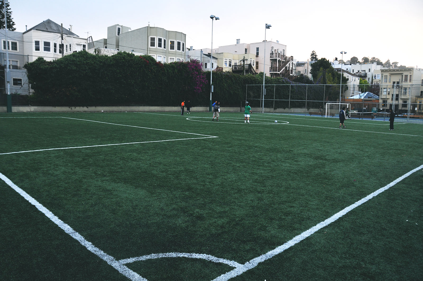 A picture of Mission Playground's Soccer Field