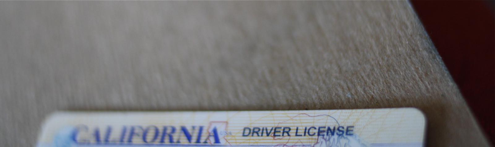 a CA drivers license