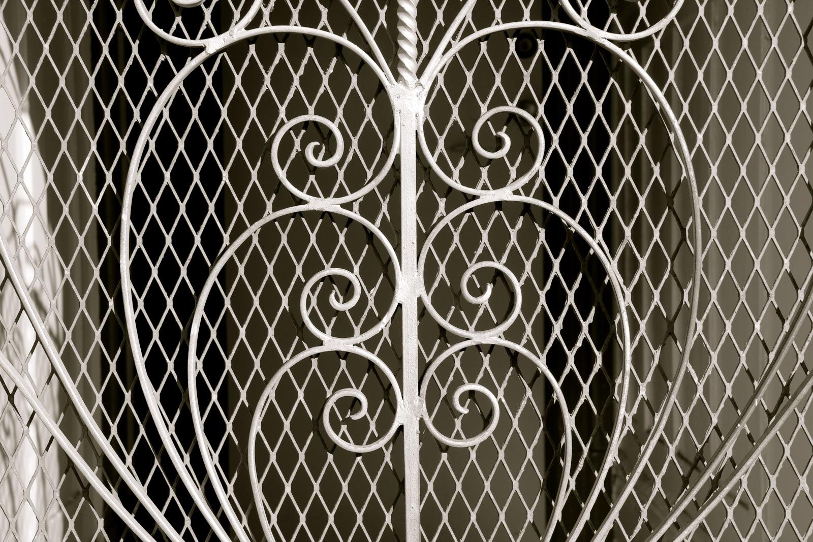 metal door