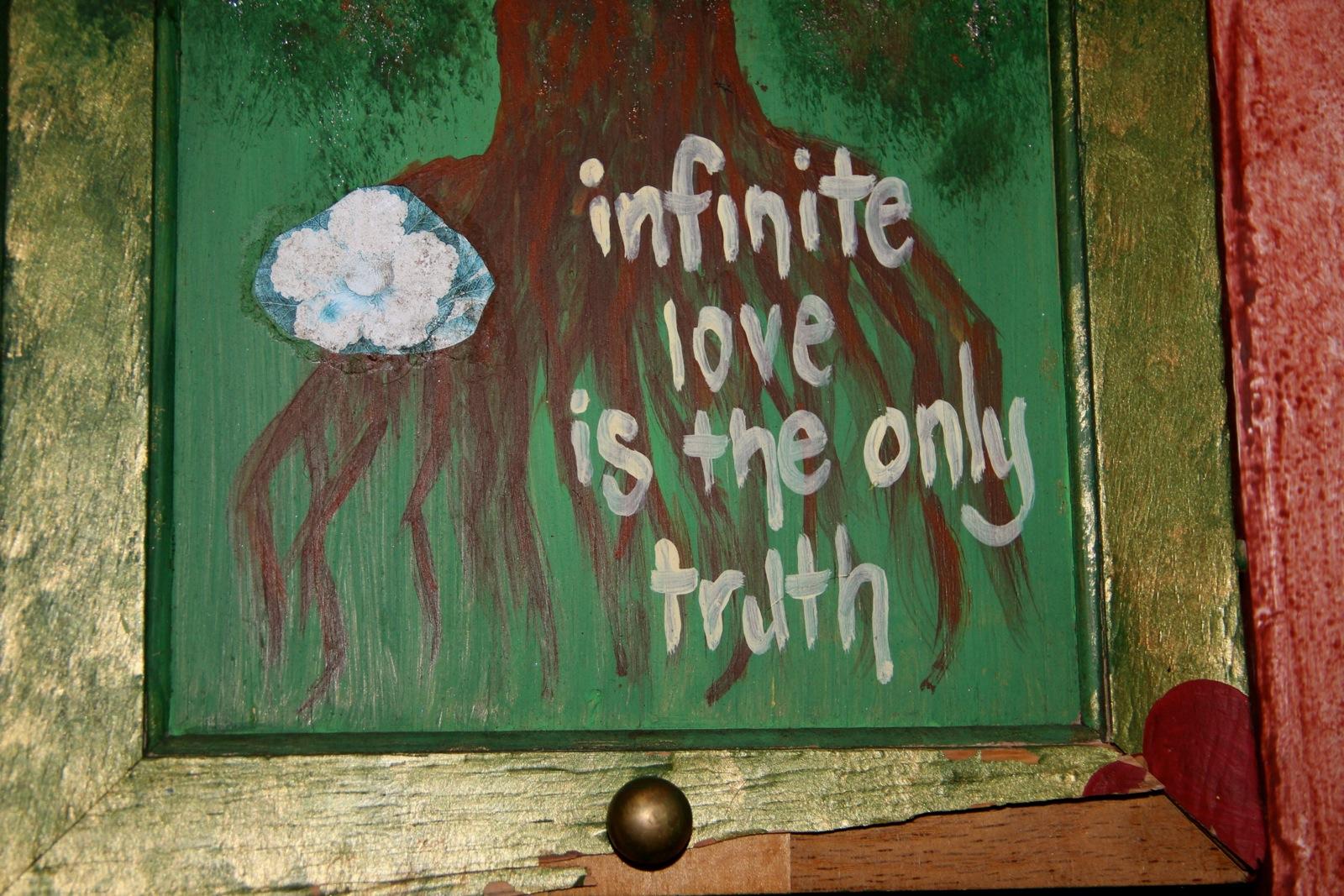 infinite love painting