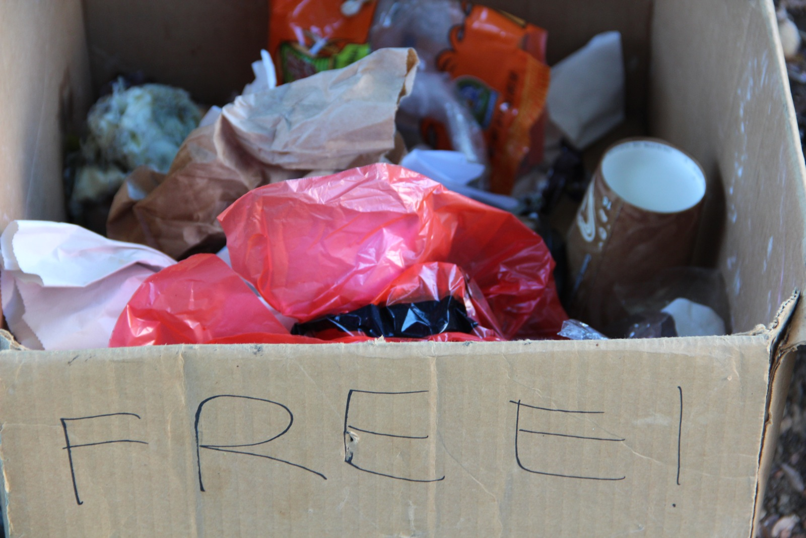 free box of garbage!