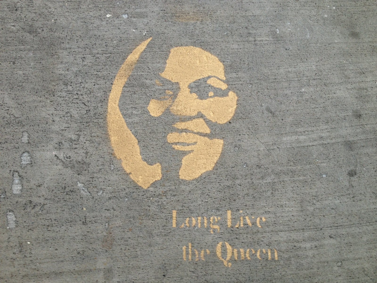 First lady graffiti