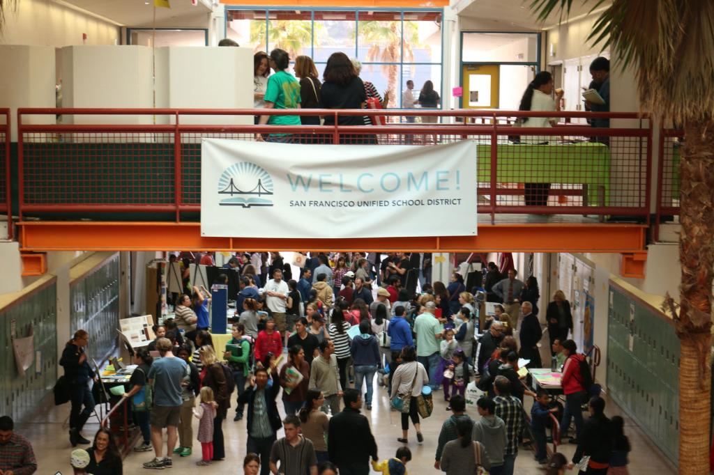 SFUSD enrollment fair, 2014