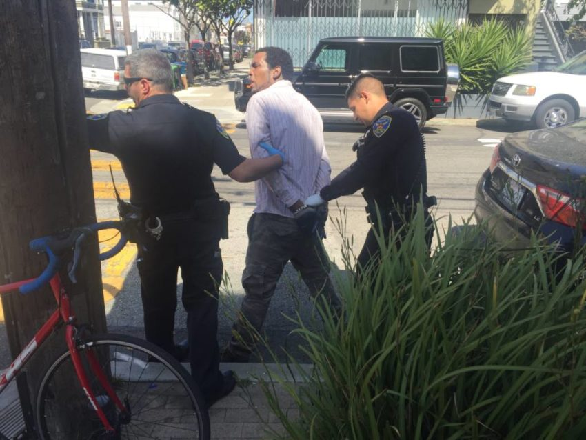 Thompson arrested at the Sunset Idea House