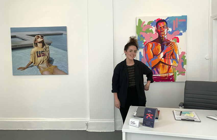 A newcomer to the Mission art scene