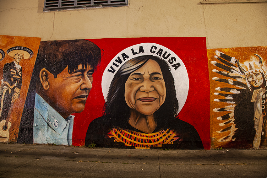 The Cesar Chavez mural