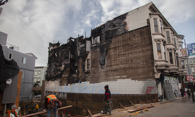 3300 Block of Mission Street rekindling following blaze — but Cole Hardware's return remains a maybe