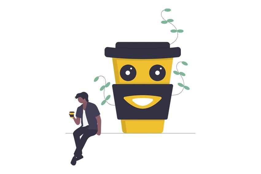 Caffeinator app art