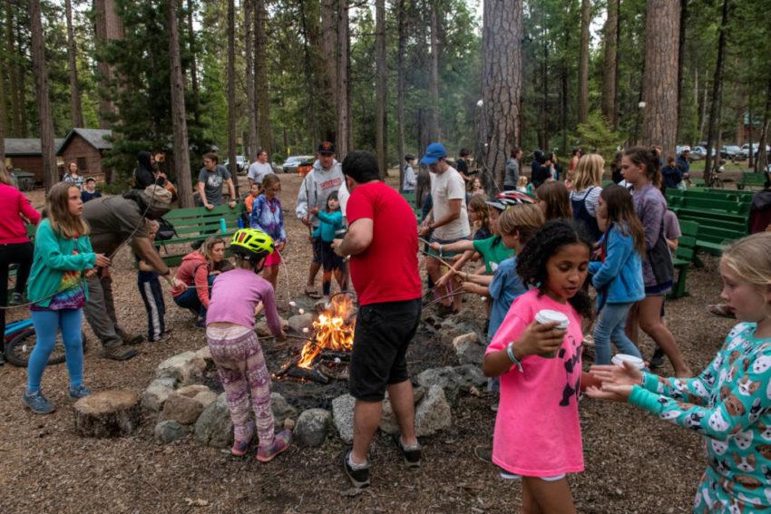 Fun at Camp Mather