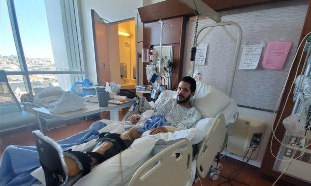 Jamaica Hampton, shot by SFPD, has leg amputated