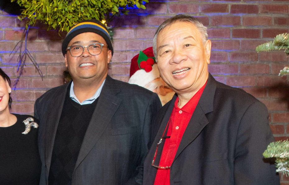 Mohammed Nuru and Walter Wong