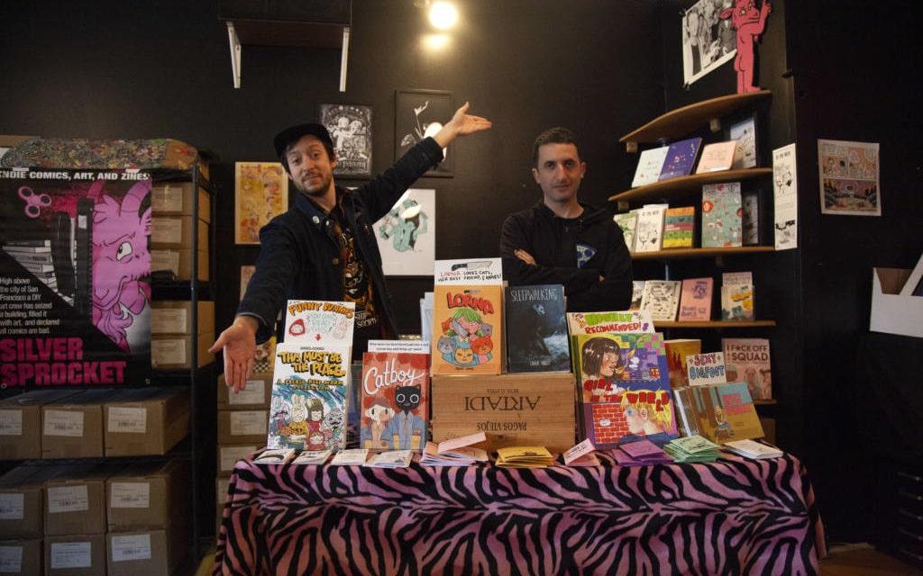 Sliver Sprocket, punk rock indie comic 'Disneyland,' opens on Valencia Street