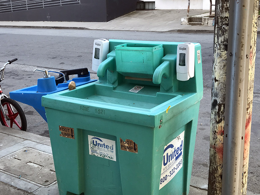 Una legislación que exigirá más baños públicos y estaciones para lavarse las manos en las zonas de San Francisco afectadas por el COVID