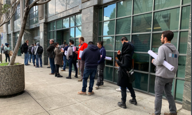 COVID-19 case at the Department of Building Inspection — 13 workers sent home