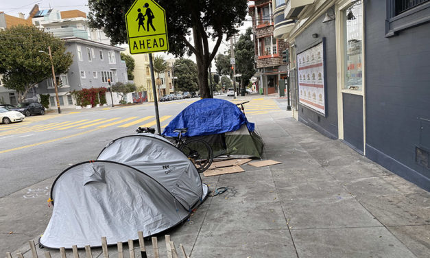 City's homeless tent count drops sharply from mid-pandemic high