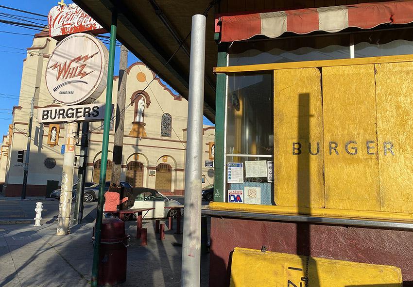 Whiz Burgers storefront