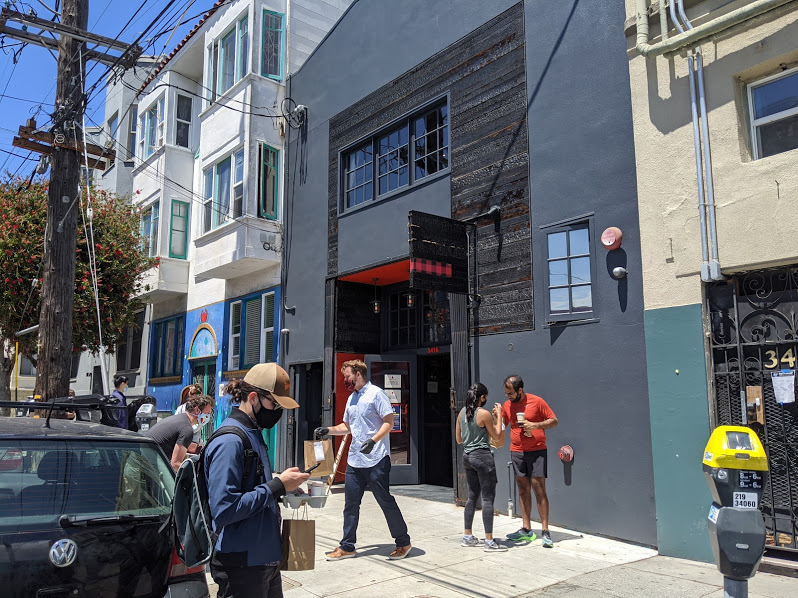 Merchants, restaurants soon allowed to operate on the sidewalk — with a permit
