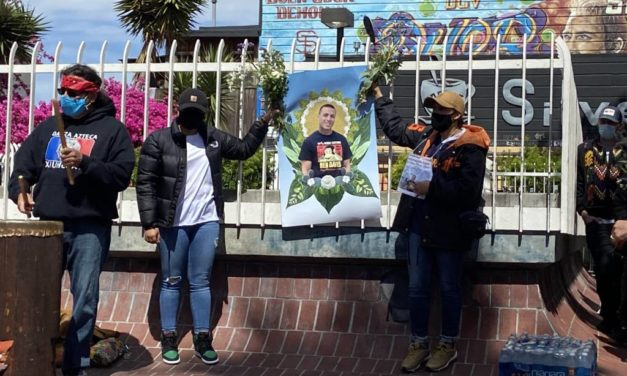 More than 100 gather at 24th and Mission for police shooting victim Sean Monterrosa