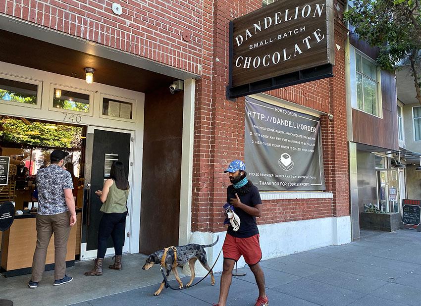 Dandelion Chocolate storefront
