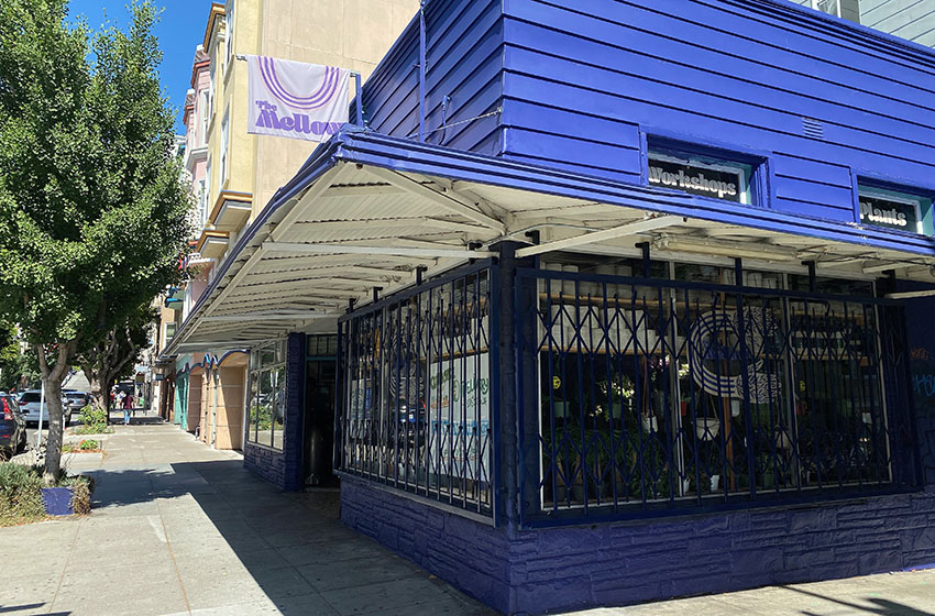 The Mellow SF storefront