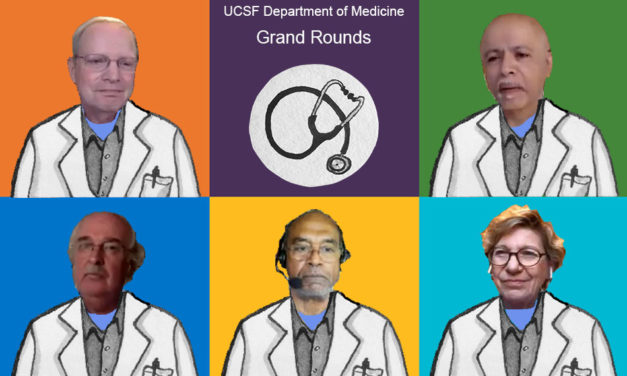 UCSF Medical Grand Rounds drops the science and goes straight to race