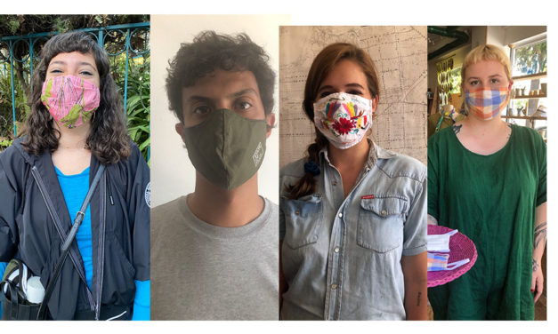COVID-19 nearly kills local business, and then masks offer a lifeline