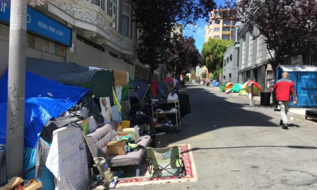 Building owners sue city to dismantle Tenderloin encampments
