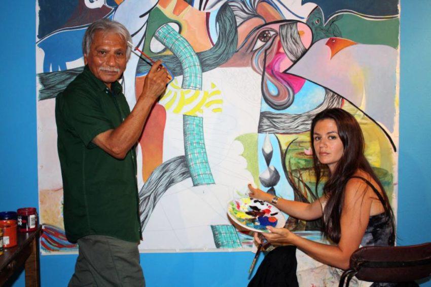 artist Juan Fuentes