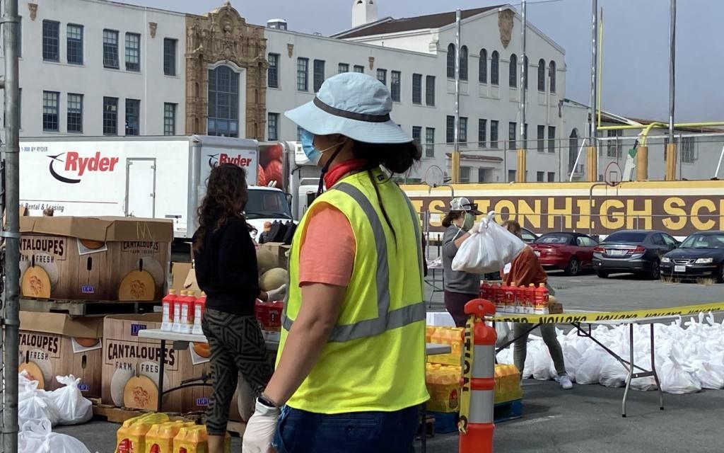 El registro de los bancos de alimentos refleja la inseguridad alimentaria que está aumentando en la ciudad