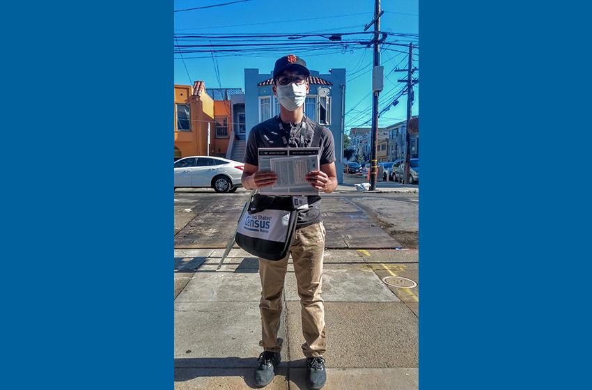 People We Meet: Jose McDevitt-Hickey, census taker