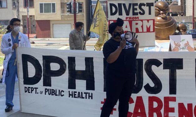 Nurses demand sheriffs' discharge from San Francisco General Hospital