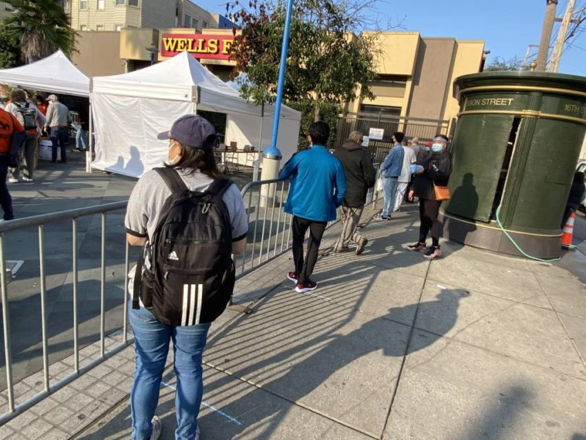 Updated: 16th Street BART becomes one-stop-shop for free covid tests and flu vaccines, more than half resources leftover