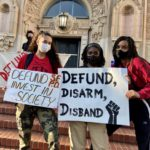 Black Lives Matter marchers demand investment in public safety — not police