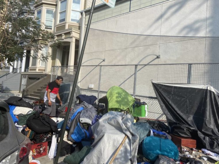 Public Works clears encampment on 20th Street