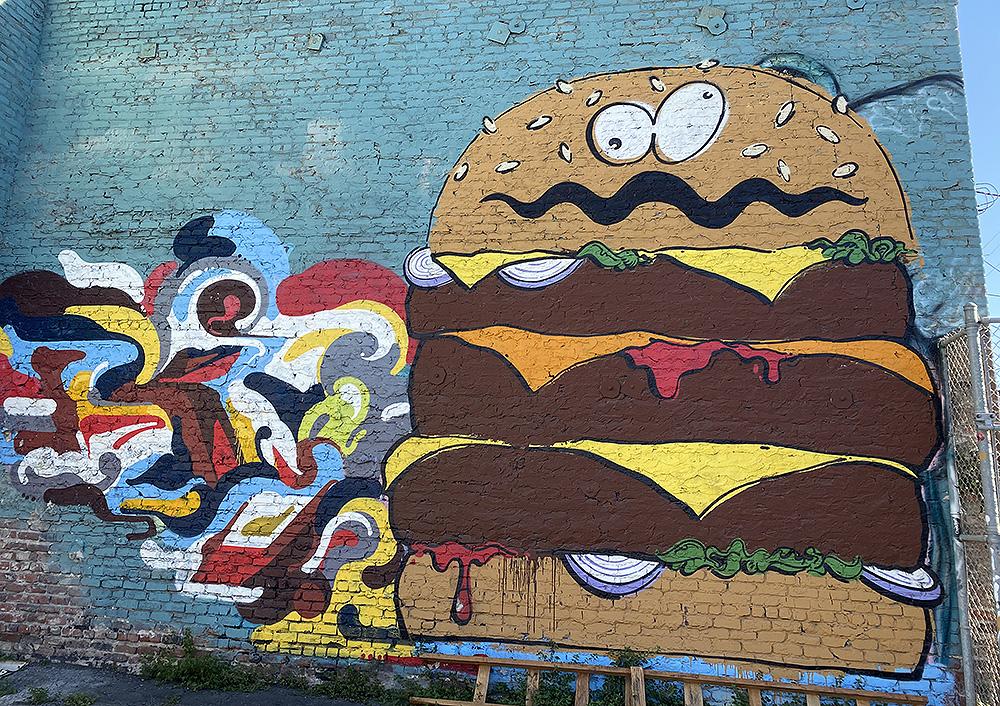 Snap: Burger wall