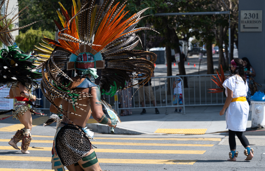 Carnaval 2020 dancers
