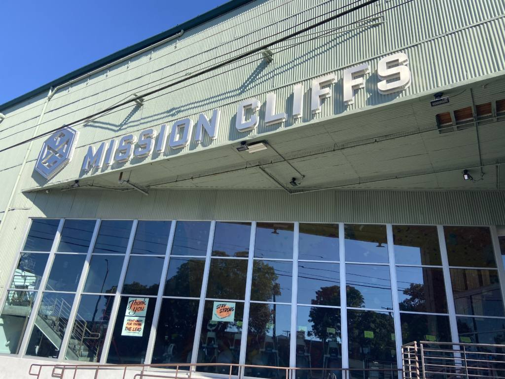 Climbing gyms like Mission Cliffs can soon reopen