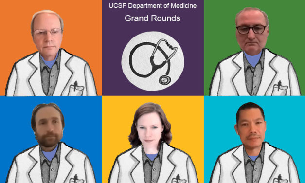 UCSF Grand Rounds: Did Trump leave the hospital too soon? And, was his giddy tweetstorm driven by steroids?
