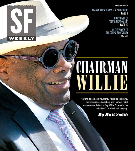 Willie Brown SF Weekly