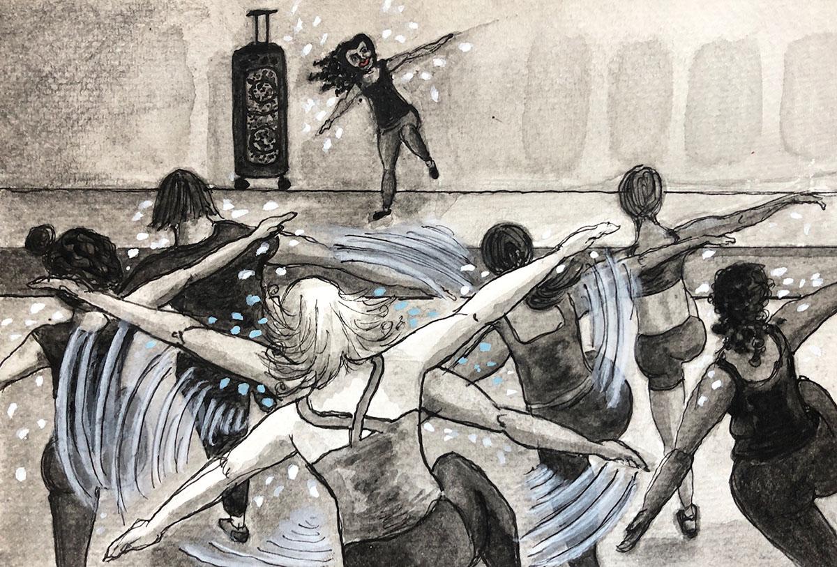 zumba illustration