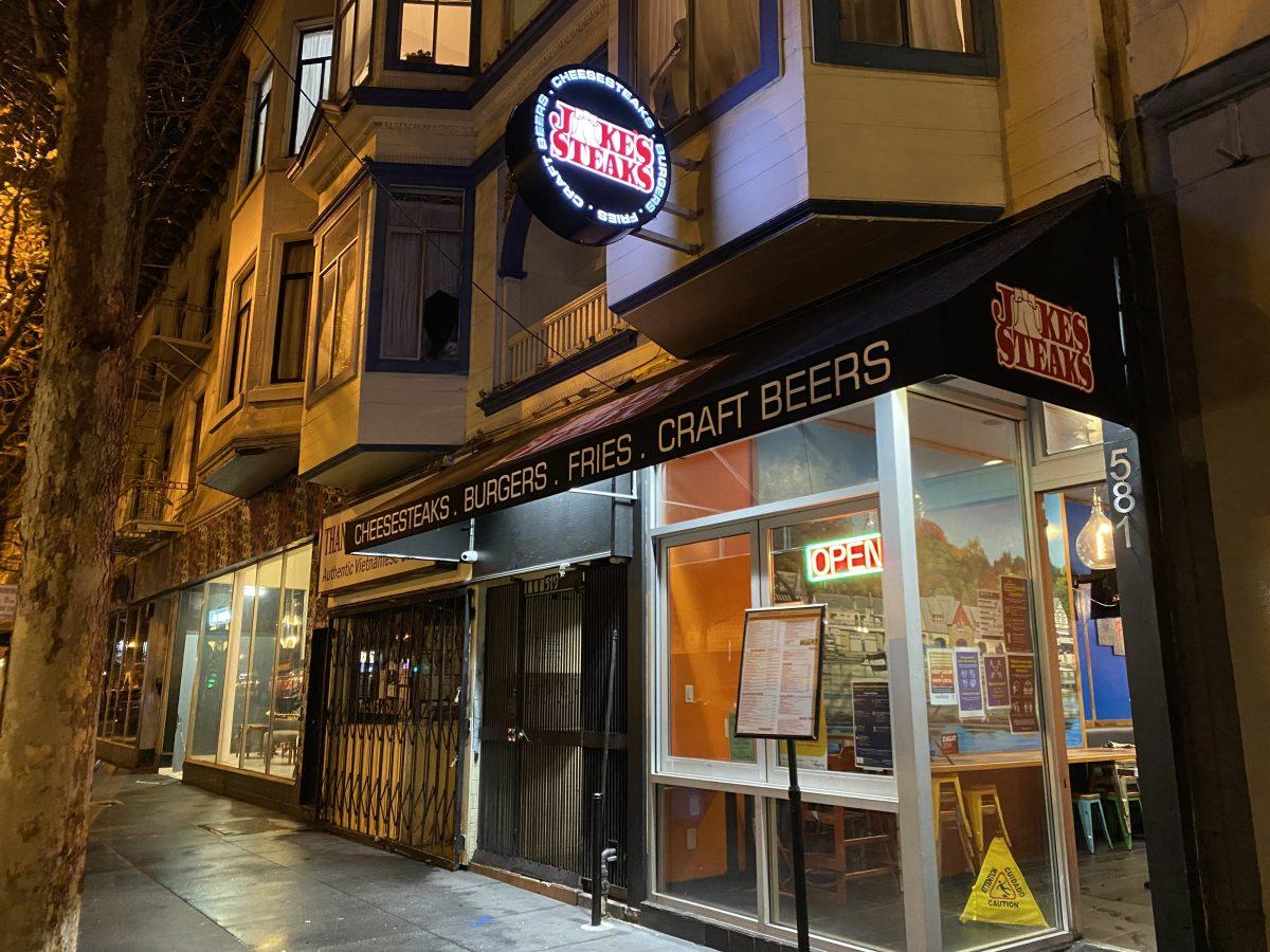 Jake's Steaks storefront