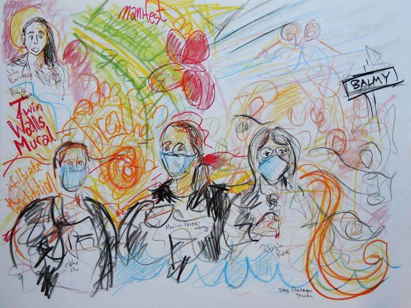 Paseo Artístico sketch