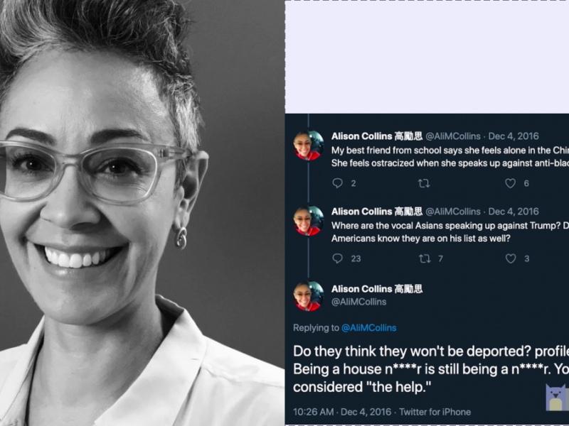 Alison Collins and her tweets