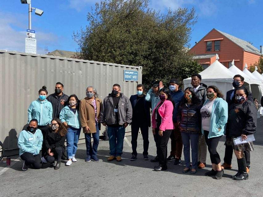 DPH Excelsior Strong Latino Task Force New Covid-10 vaccine site in Excelsior District