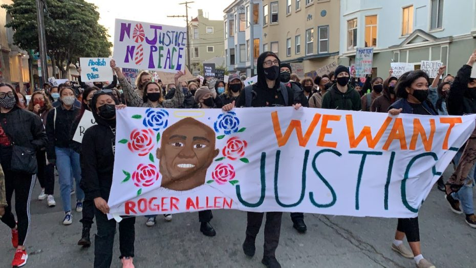 Protest for Daunte Wright and Roger Allen