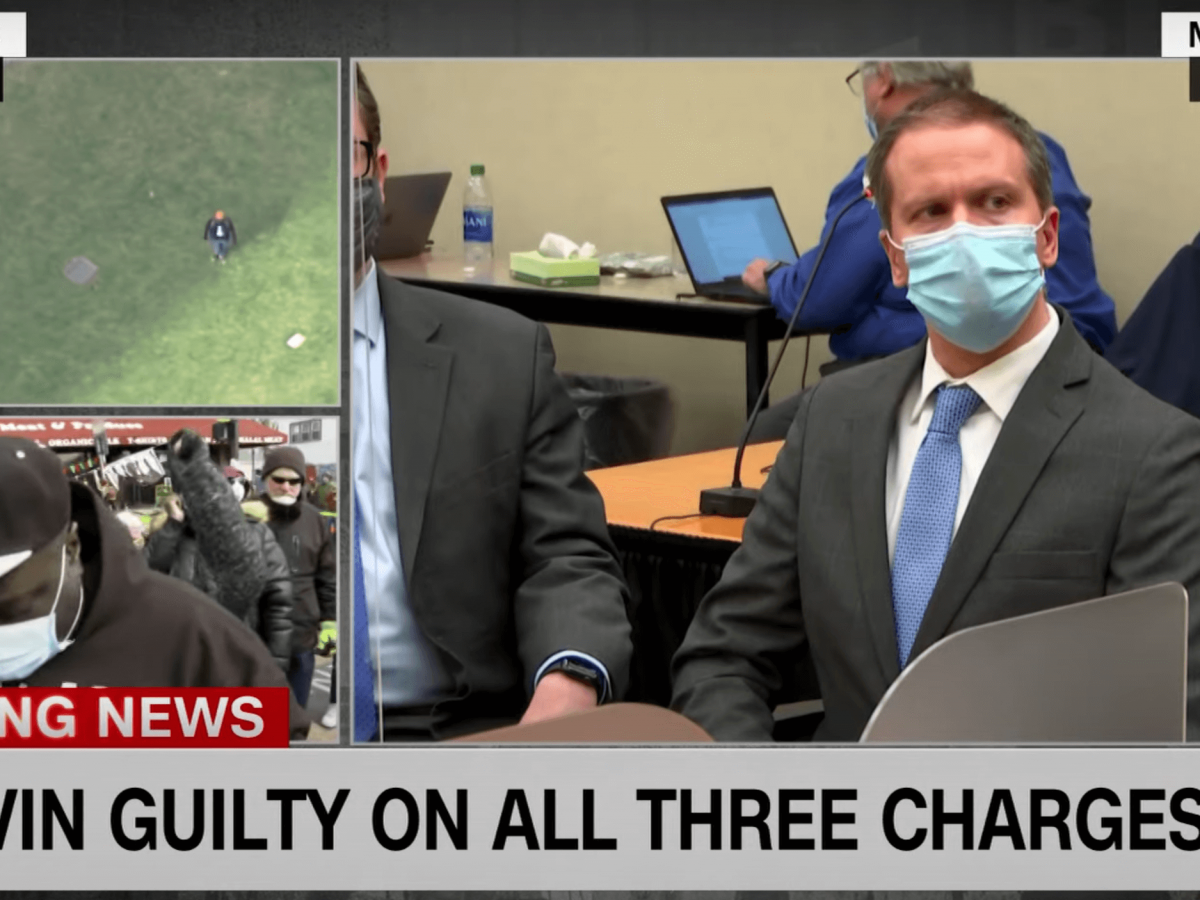 Chauvin was found guilty on all three charges. The decision was announced on Tuesday at 4 p.m.