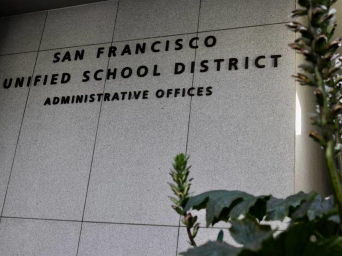 San Francisco Unified School District. Photo by Jennifer Cortez.