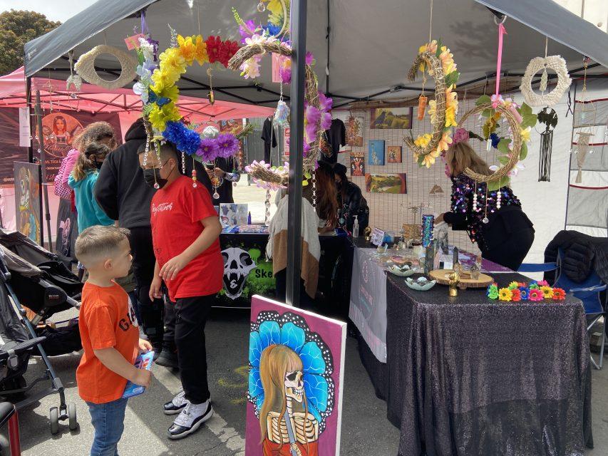 shops stalls decorations carnaval sf