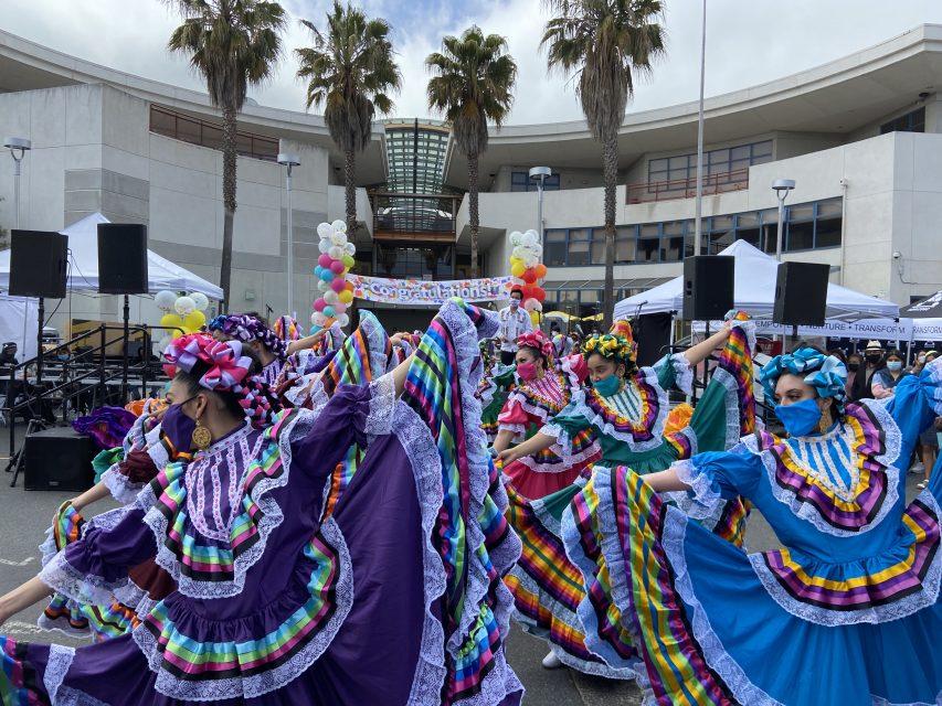 CUICACALLI carnaval dancers mission 2021 folk dancers