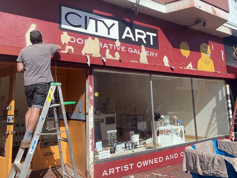 City Art on Valencia Street